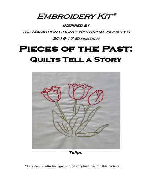 Tulip Embroidery Kit