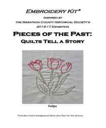 Tulip Embroidery Kit